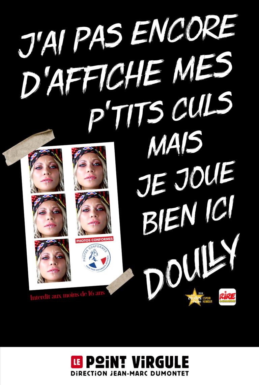Doully en spectacle au Point Virgule à Paris