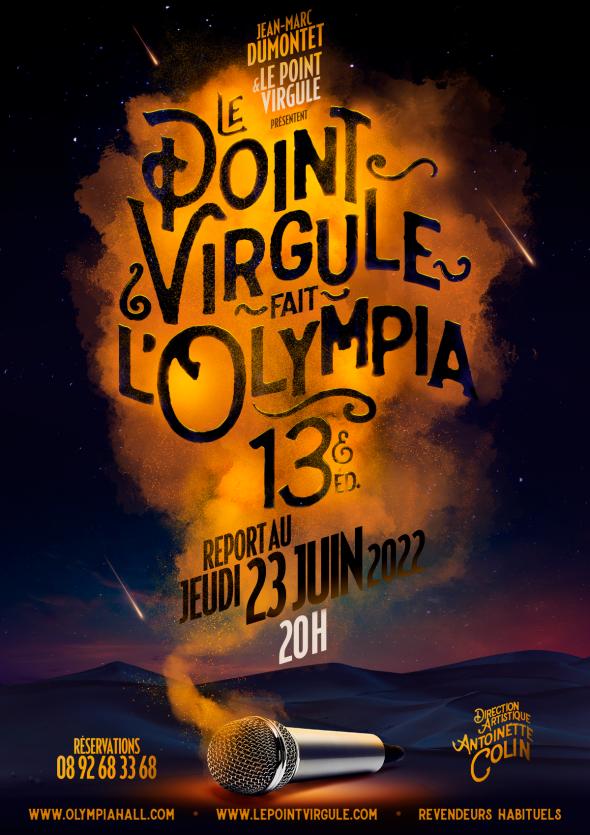 Le Point Virgule fait l'Olympia à Paris