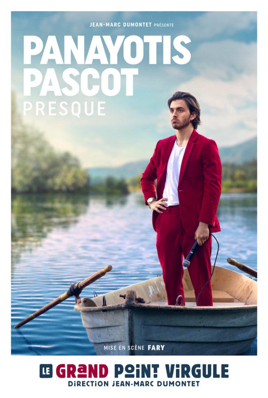 Panayotis en spectacle au Grand Point Virgule à Paris