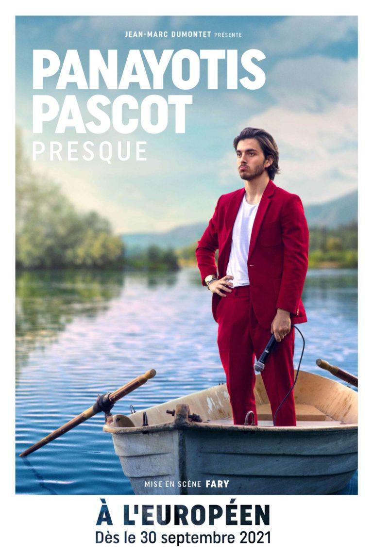 Panayotis en spectacle à l'Européen à Paris
