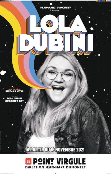 Lola Dubini en spectacle au Point Virgule à Paris