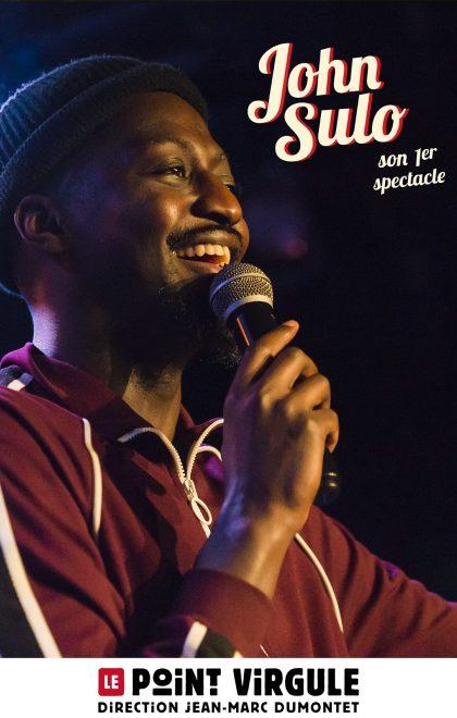 John Sulo en spectacle au Point Virgule à Paris